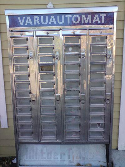 Image result for gammal varuautomat