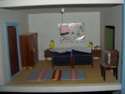 Dockhus sovrum