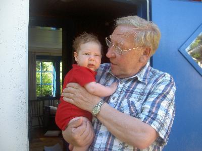 Klara och morfar