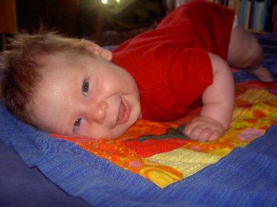 Klara på sängen