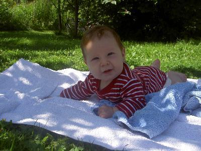Klara på gräset